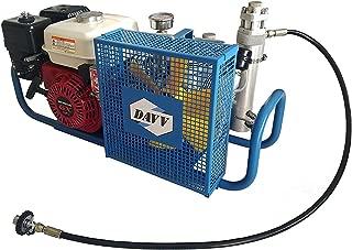 HPDMC 100L/Min Gas-Powered Air Compressor,5.5-HP Engine,4500psi High Pressure for PCP Paintball SCUBA SCBA Tanks Filling (SCU100P, Petrol)