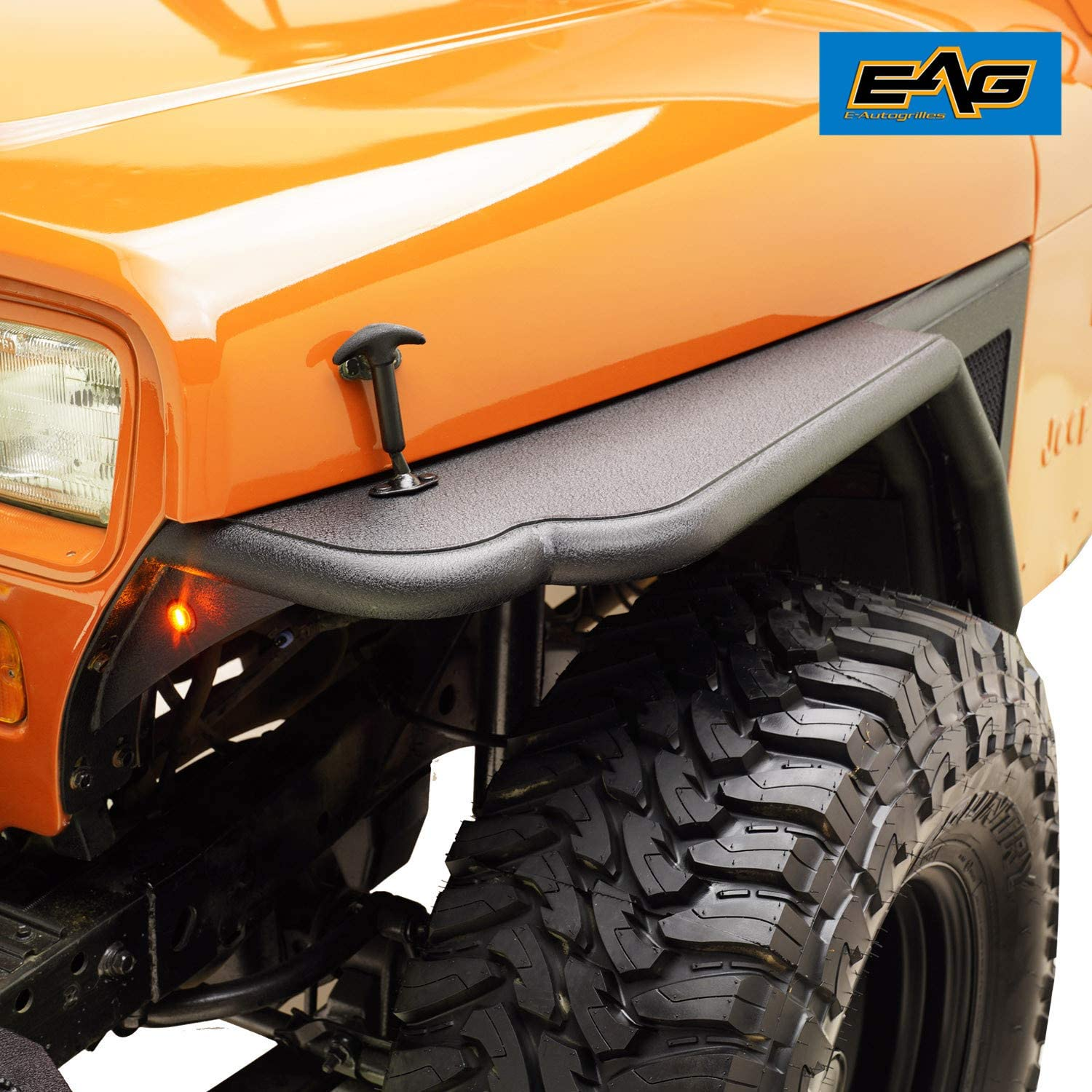 Max 57% OFF EAG Front Tube 3 safety inch Fender Flare 87-95 Rocker Wr Guard for Fit