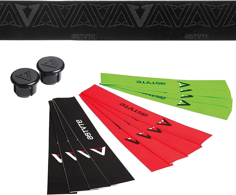 ASTVTE (Astute) Bar Tape Extreme tape Luxury black [EXTREME TAPES LUXURY BLACK] black   lime   red with color finish tape velvet Made in  0NLUBKLIMRED205