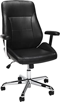 OFM Core Collection Office Mid Back Leather Task Chair