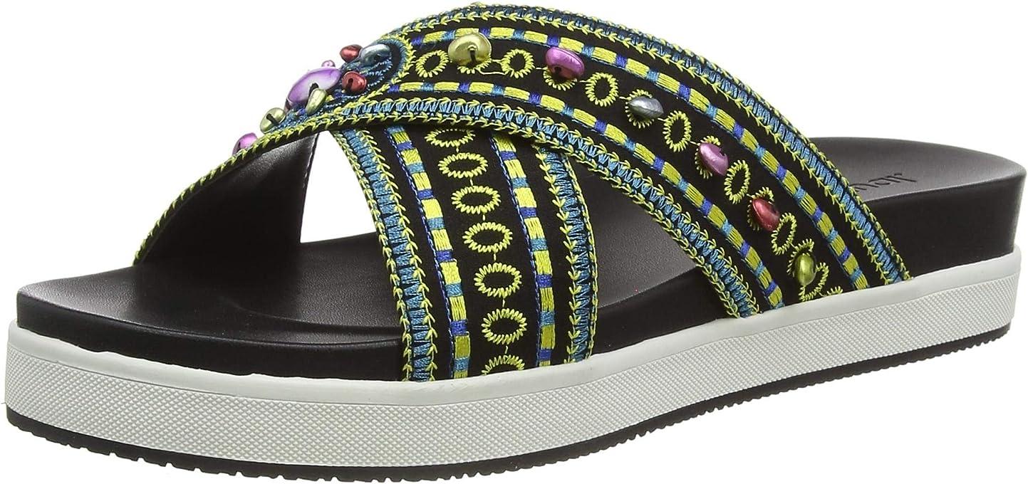 Desigual Shoes Nilo Beads, Sandalias con Plataforma para Mujer