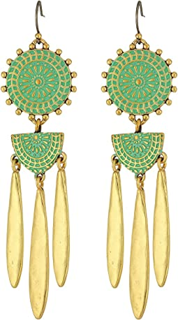 Lucky Brand - Petina Chandelier Earrings