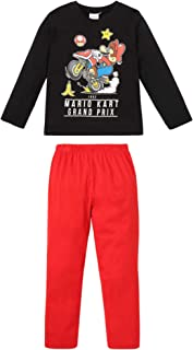Fantaisie et Specialty Super Mario 1-Up Mushroom Pyjama gris chiné