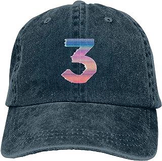 JorgAkem Chance The Rapper Coloring Book 3 Denim Caps Mens Womens Baseball Hat Casquette