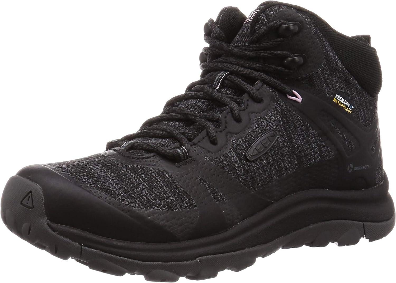   KEEN Women's Terradora 2 Waterproof Mid Height Hiking Boot   Hiking Boots