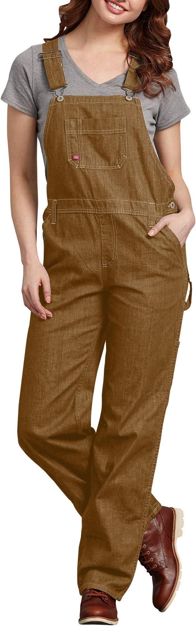 Vintage Overalls & Jumpsuits Dickies Womens Denim Bib Overall  AT vintagedancer.com
