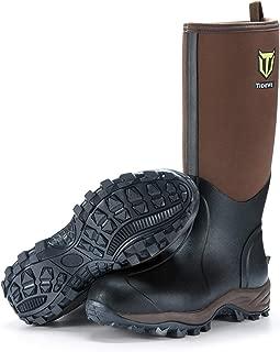 TideWe Muck Boots Men and Women, Waterproof Durable 6mm...