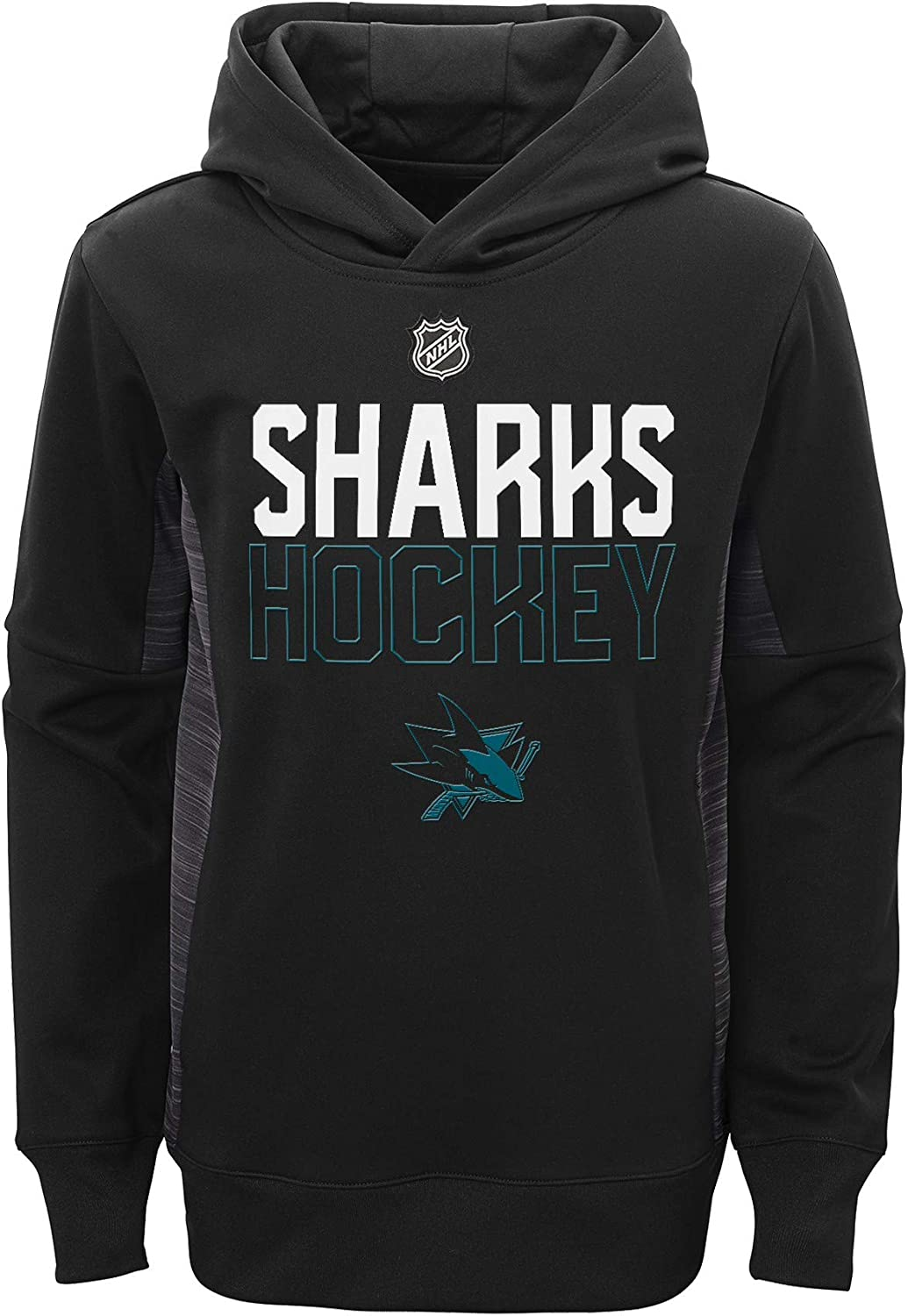 Outerstuff NHL Big Boys Youth 8-20 Pullover Chase The Fixed price for sale Hoo Puck Max 51% OFF