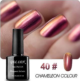 Gellen Hot Trend Gel Nail Polish Colors Chameleon Series Soak Off Gel Polish Gradient High Shiny Version Color No.40