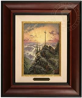 Thomas Kinkade Sunrise Brushwork (Burl Frame)