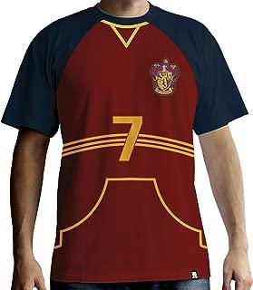 HARRY POTTER - T-Shirt PREMIUM - Quidditch Jersey (S) : TShirt , ML