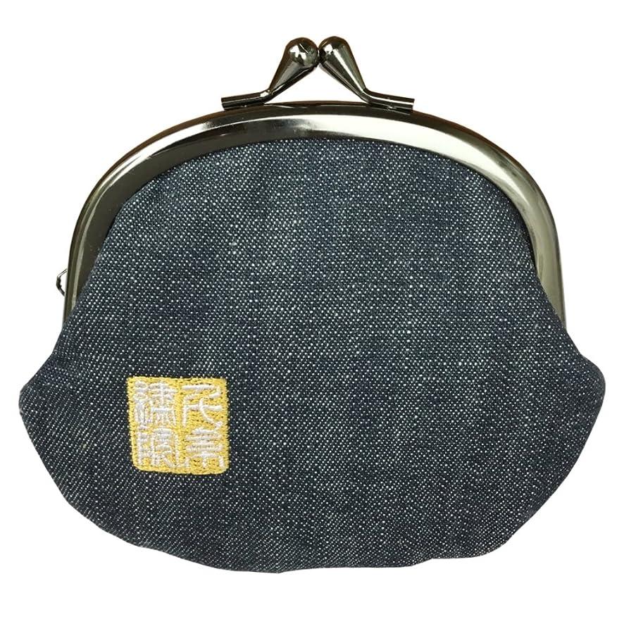 カプラー指標処方千糸繍院 西陣織 金襴 がま口 3.5寸丸型財布/小銭入れ(裏地付き)