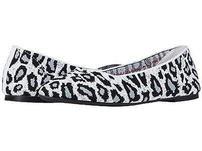 SKECHERS Cleo Claw-Some (White/Grey) Women