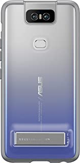 ASUSTek ZenFone 6 (ZS630KL) 専用 Stand Case トワイライトシルバー 90AC03N0-BCS010