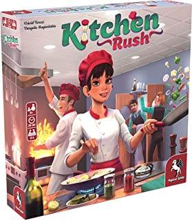 Pegasus Spiele 51223E – Kitchen Rush (English Edition)