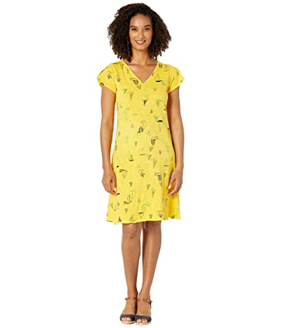 Fresh Produce Harbour Hues Amelia Dress (Mango Yellow) Women