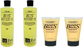John Boos Board Cream and Oil Set of 4