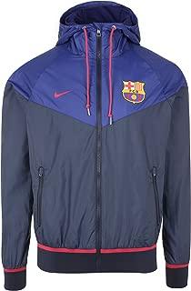 2015-2016 Barcelona Nike Authentic Windrunner Jacket (Navy) LARGE
