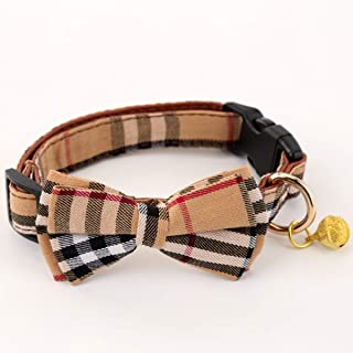 burberry inspired dog collar