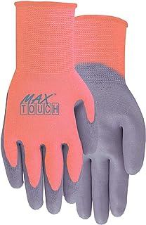 MidWest Gloves & Gear 1701WK0 Max Ladies Touch Glove, Melon