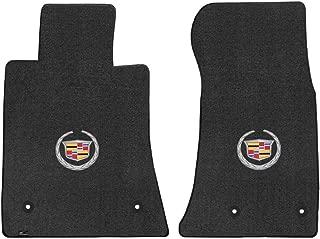Fits 2013-2017 Cadillac ATS Lloyd Front Floor Mats Crest Logo