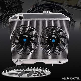 All Aluminum Radiator With 2x 9
