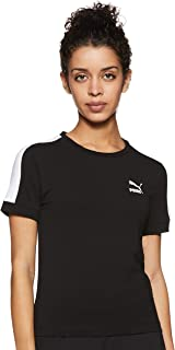 Puma Classics Tight T7 Tee Shirt For Unisex