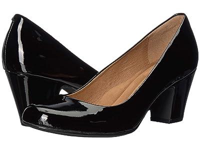Sofft Myka (Black Eva Classic Patent) Women