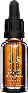 Vitabay K2 MK-7 vitamindroppar (100 µg per portion, vegan), orange, 1-pack (1 x 20 ml)