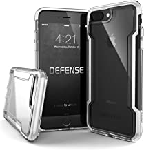 X-Doria iPhone 8 Plus & iPhone 7 Plus Case, Defense Clear - Military Grade Drop Protection, Clear Protective Case for iPhone 8 Plus & 7 Plus (White)