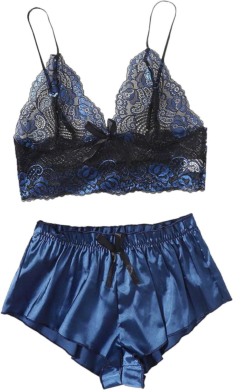 Womens Sexy Lace Lingerie Nightwear Set favorite Babydoll Tulsa Mall Underwear Robe