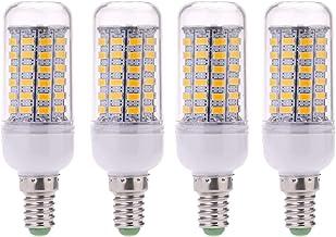 E14 LED Bulb Lamp 10W Not Dimmable Warm White 3000K 1000LM Corn Bulb Edison Screw Candelabra 360°Beam Angle Non Flickering...