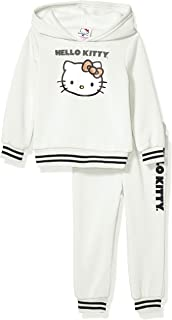 Hello Kitty Girls 2 Piece Hoodie and Jogger Pant Active Set