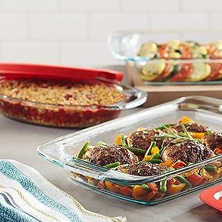 Pyrex Easy Grab 4-piece Oblong Baking Dish Set