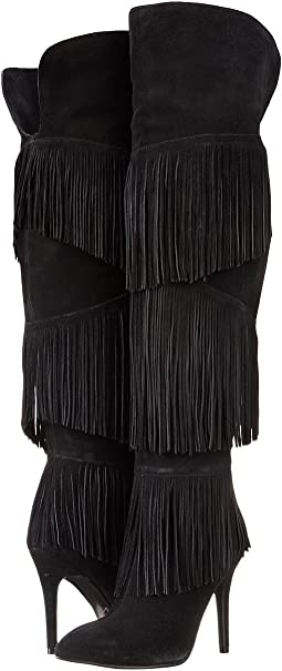 Chance Over the Knee Fringe Boot