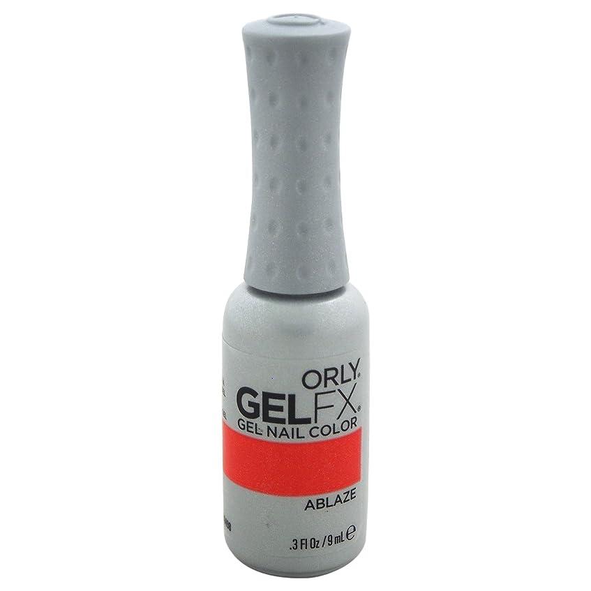 計算可能中断コマースOrly GelFX Gel Polish - Ablaze - 0.3oz / 9ml