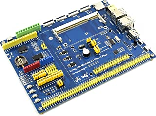 Waveshare Compute Module IO Board Plus Development Composite Breakout Board for Developing with Raspberry Pi CM3 CM3L Various Common Use Components