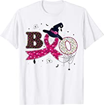 Breast Cancer Pink Ribbon Halloween Costume Gifts T-Shirt