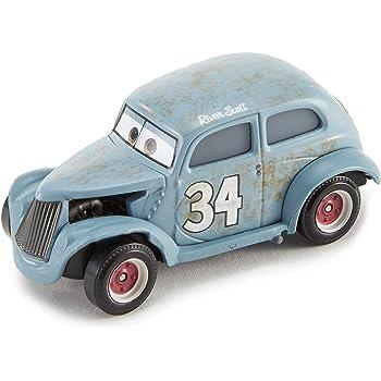 Jouet pour Enfant Flm11 Disney Pixar Cars Grand Prix Mondial Petite Voiture Noire Lewis Hamilton