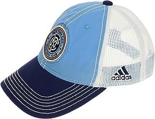 adidas MLS New York City FC Youth Adjustable Snapback Trucker Baseball Cap