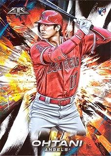 2018 Topps Fire Baseball #150 Shohei Ohtani Rookie Card