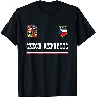 Czech Republic T-shirt Sport/Soccer Jersey Tee Flag Prague