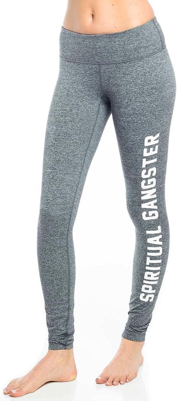 Spiritual Gangster SG Collegiate Practice Legging Womens Active Workout Yoga Leggings