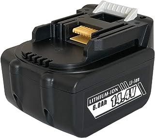 マキタ互換 Enelife 1460 純正品と同じ電池を搭載 長寿命 14.4V 6000mAh バッテリー 日本メーカーによる保証とサポート 正規PSEマーク 5億円製造物責任保険付保