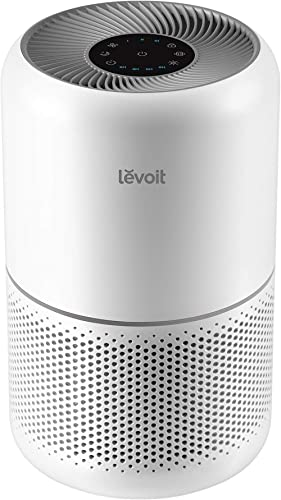 LEVOIT Air Purifier for Home Allergies and Pets Hair Smokers in Bedroom, H13 True HEPA Filter, 24db Filtration System...