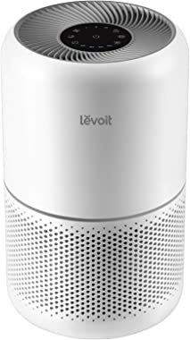 LEVOIT Air Purifier for Home Allergies and Pets Hair Smokers in Bedroom, H13 True HEPA Filter, 24db Filtration System Cleaner