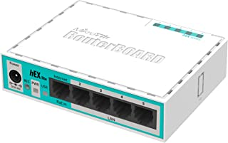 Mikrotik RouterBOARD hEX lite 5 ports router 5 X 10/100 PoE OSL4 - (RB750r2)