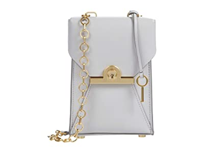 ZAC Zac Posen Amelia Phone Crossbody (Ice) Handbags