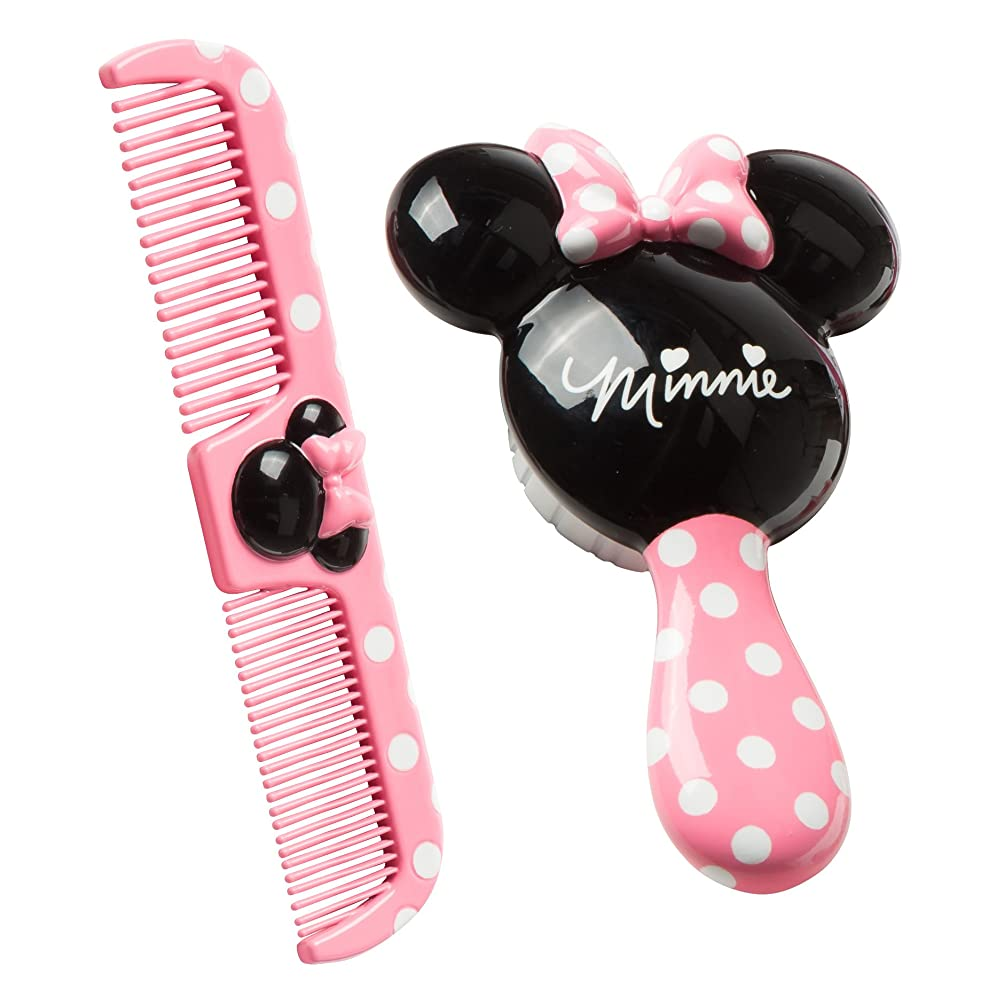 Disney Baby Minnie Hair Brush and Wide Tooth Comb Set ridswmkxozy6307