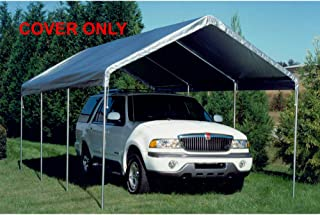 Canopy Replacement Drawstring Cover in White